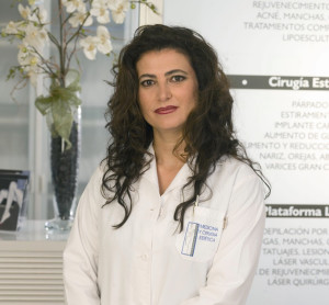 La doctora Rocío Vázquez.