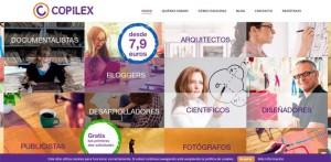 Imagen de la plataforma Copilex.