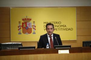 Rueda de prensa de Íñigo Fernández de Mesa.