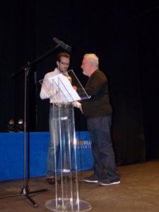 Entrega del premio. / Foto: Fundación Anade.