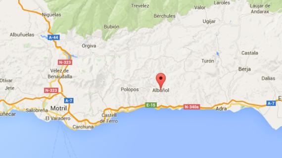 Registrado un terremoto de 3,7 grados con epicentro en Albuñol sin causar daños