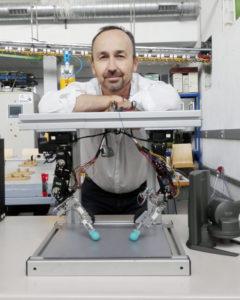 El simulador del robot quirúrgico