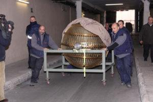 Los bombos de Navidad se trasladan al Teatro Real. / Foto: Loterías y Apuestas del Estado.