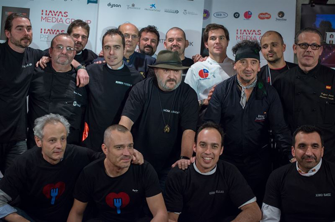 Más de 30 chefs darán de cenar a personas en situación de vulnerabilidad en Madrid