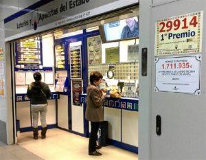 Administración de Lotería / Foto: Europa Press.