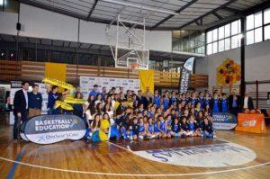 Presnetación de la iniciativa 'Basketball is Education'.