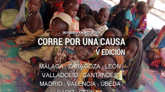 La V Carrera de Entreculturas 'Corre por una causa, corre por la educación' recaudará fondos para un proyecto en Chad