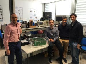 José Miguel Burdío, coordinador principal del GEPM, Óscar Lucía, Alejandro Naval y Héctor Sarnago.