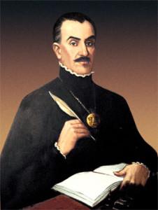 Retrato de Inca Garcilaso de la Vega.