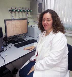 La investigadora del área de 'Tecnología, Postcosecha e Industria Agroalimentaria' del Ifapa. / Foto: Fundación Descubre.