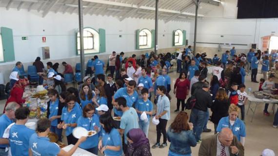 Organizan un encuentro de convivencia con los refugiados sirios