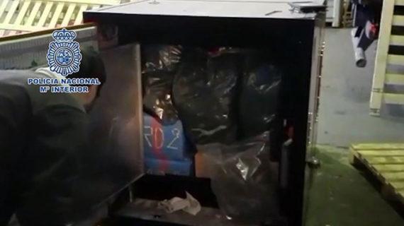 Cae una red de narcos responsable del envío de más de cinco toneladas de hachís que operaba en Málaga
