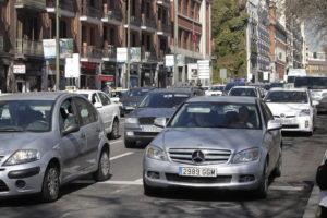 El sistema puede predecir los atascos. / Foto: Europa Press.