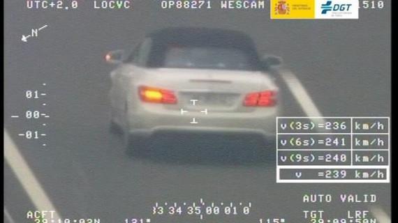 La DGT pone en marcha una nueva campaña especial de vigilancia en las carreteras convencionales