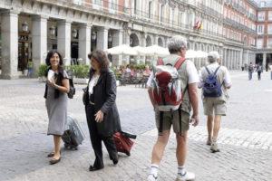 Crece el gasto medio de los turistas extranjeros. / Foto: Europa Press.
