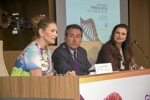 La clausura corrió a cargo del alcalde de Sevilla, Juan Espadas, en la que también participó la soprano internacional Ainhoa Arteta, madrina de la Fundación y Rocío Vázquez, presidenta de la misma.