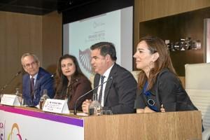 """Un momento de la inauguración de la II Jornada Científica Fundación Clínica Rocío Vázquez celebrada bajo el título """"Grandes retos de la medicina actual"""""""