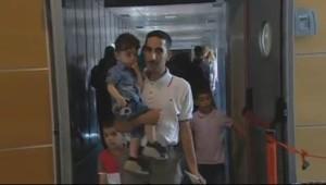 Los refugiados han llegado a España.