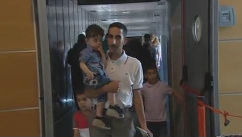 Llega a España el primer grupo de refugiados reasentados desde Líbano