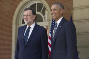 El presidente de los Estados Unidos ha visitado el Palacio de la Moncloa. / Foto: Diego Crespo / Presidencia del Gobierno