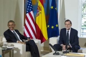 Ambos dirigentes han conversado sobre diversos asuntos. / Foto: Diego Crespo / Presidencia del Gobierno