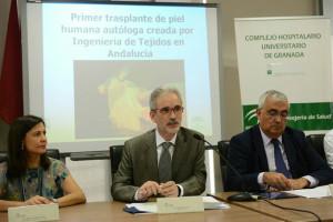 Aquilino Alonso y Antonio Ramírez de Arellano en rueda de prensa.