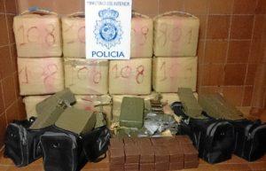 Un segundo camión contenía 540 kilos de droga.