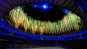 Ceremonia de clausura de los Juegos de Río 2016.