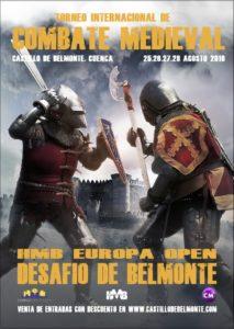 Cartel del II Torneo Internacional de Combate Medieval.