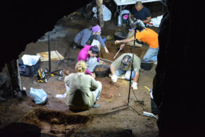 Las excavaciones continúan este 2016.