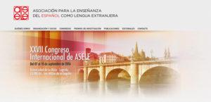 Web de la Asociación para la Enseñanza de Español.