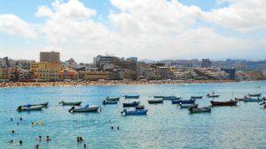 Una playa de Las Palmas. / Foto: El Coleccionista de Instantes Flickr.