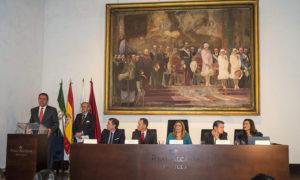El acto tuvo lugar en los Reales Alcázares de Sevilla.