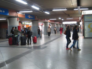 Aumenta el número de pasajeros. / Foto: Europa Press.