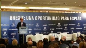 Íñigo Fernández de Mesa durante su intervención en la Jornada. / Foto: Europa Press.