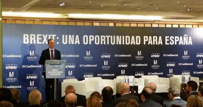 """Economía dice que el 'Brexit' es una """"oportunidad' para España en industria financiera y en otros sectores"""