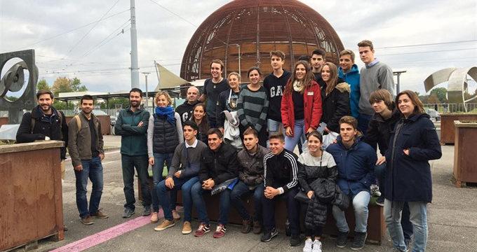 Los ganadores del concurso interescolar Desafío STEM viajan al CERN en Ginebra
