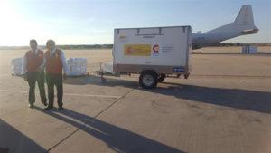 La ayuda humanitaria partirá con destino a Haití. / Foto: Europa Press.