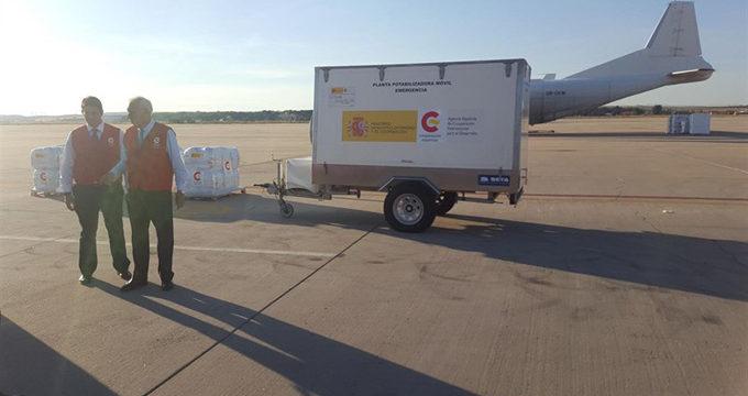 España prepara un envío a Haití de 13 toneladas de medicamentos y material humanitario