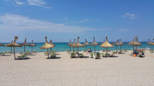Una de las playas de Palma de Mallorca. / Foto: Pixabay.com