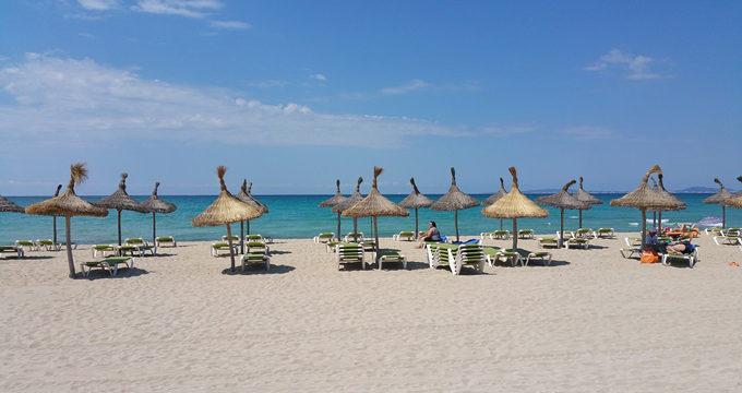 Algunas de las más bellas playas presentes en Palma de Mallorca