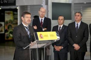 Catalá presentó las nuevas tarifas. / Foto: Europa Press.