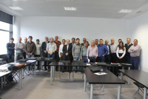 Reunión de Campofrío con los representantes de los trabajadores. / Foto: Campofrío.