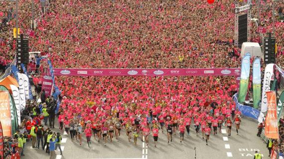 Unas 29.000 mujeres participan en la Carrera de la Mujer de Barcelona