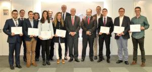 Estudiantes españoles reconocidos por AENOR. / Foto: AENOR.