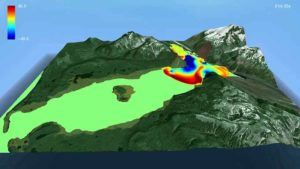 Imagen de la simulación por ordenador realizada en el proyecto.