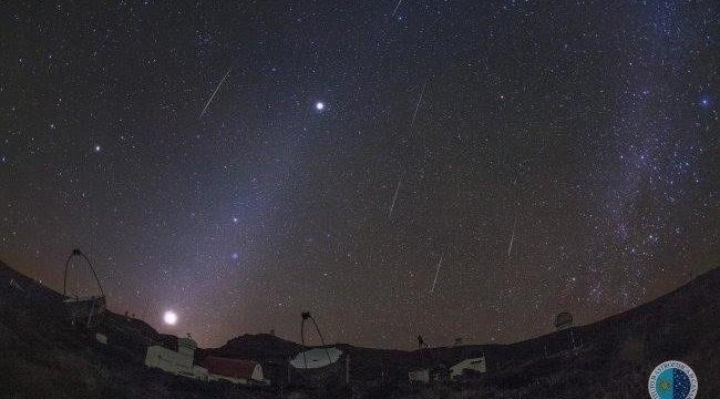 Las noches del 13 y 14 de diciembre serán las mejores para ver la intensa lluvia de meteoros Gemínidas