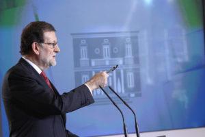 El presidente del Gobierno, Mariano Rajoy. / Foto: Europa Press.