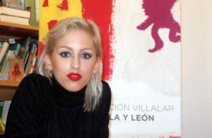 La artista Andrea Ruano.