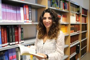 La profesora del Máster en Formación del Profesorado de ESO y Bachillerato de la CEU-UCH Meritxell Notari, autora de la investigación.